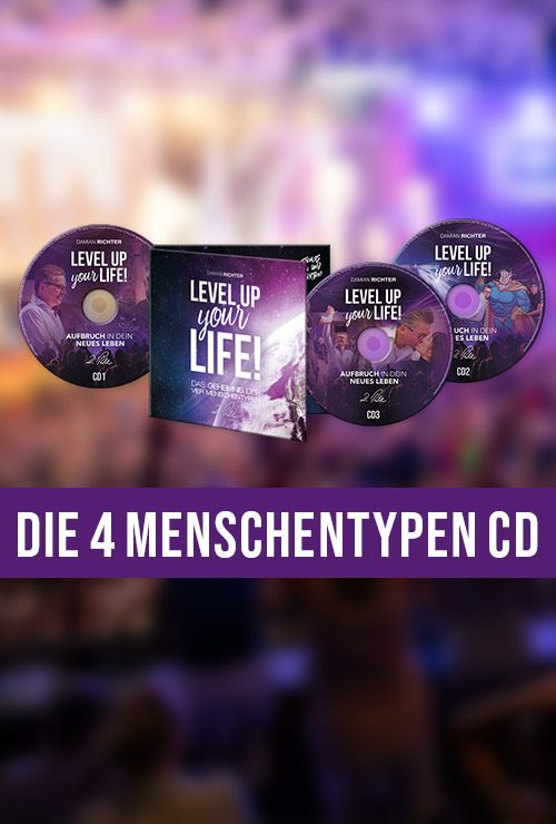 DamianRichter_Level-up-your-Life-CD_die-vier-Menschentypen